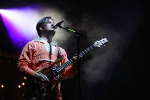 Isaac Brock of Modest Mouse on Sunday, Aug 26 at First City Festival in Monterey. Photo by Mike Hendrickson / Xpress